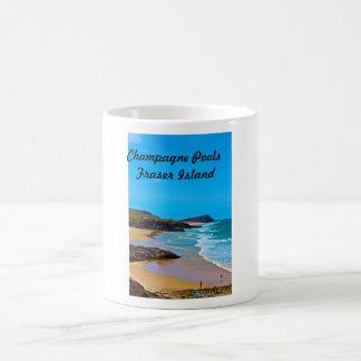 フレーザー島-シャンペンのプール コーヒーマグカップ