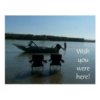 フレーザー川の採取 ポストカード