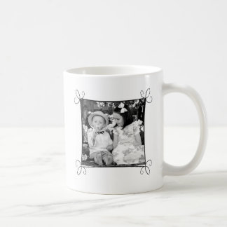 フレームが付いているカスタムな写真のマグ コーヒーマグカップ