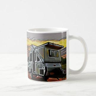 フレームのキャンピングカーのマグ コーヒーマグカップ