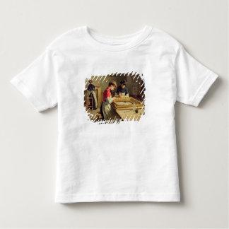 フレームの金めっきの研修会のインテリア トドラーTシャツ