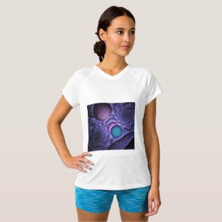 「フレームワーク球」のカスタムなフラクタルの芸術 Tシャツ