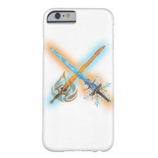 フロストおよび火の剣のiPhoneの場合 Barely There iPhone 6 ケース