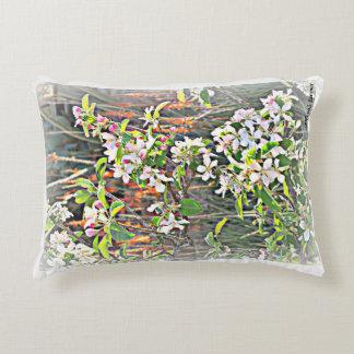 フロストの装飾用クッションのりんごの木の花 アクセントクッション