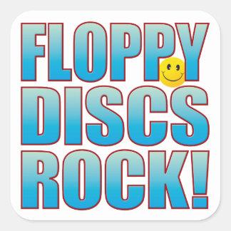 フロッピーディスクの生命B スクエアシール