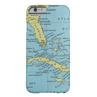 フロリダおよびキューバのヴィンテージの地図 BARELY THERE iPhone 6 ケース