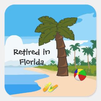 フロリダで退職した スクエアシール