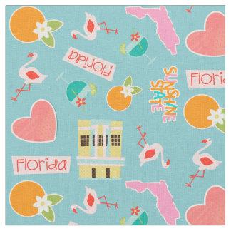 フロリダのおもしろいパターン ファブリック
