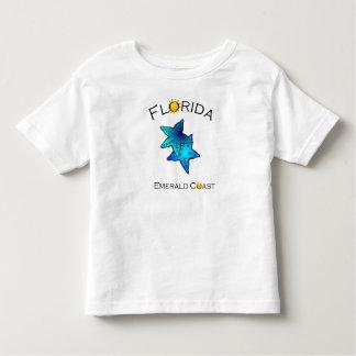 フロリダのエメラルドの海岸のTシャツ トドラーTシャツ