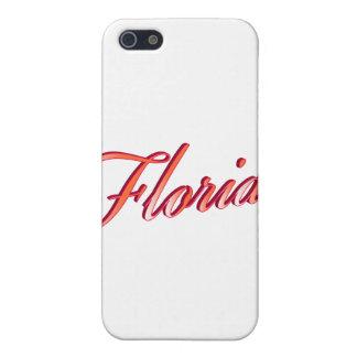 フロリダのエレガントな原稿 iPhone SE/5/5sケース