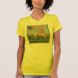 フロリダのカウボーイのKissimmeeの柑橘類の栽培者のヴィンテージのCr Tシャツ