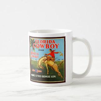 フロリダのカウボーイ コーヒーマグカップ