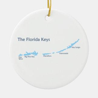 フロリダのキー セラミックオーナメント