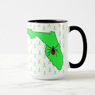 フロリダのコーヒー・マグのライム病の認識度 マグカップ