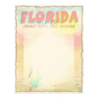 フロリダのサーファー レターヘッド