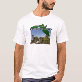 フロリダのビーチの生命の冬を憎まないで下さい Tシャツ