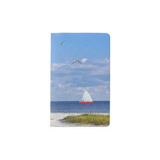 フロリダのビーチ、海岸および鳥 ポケットMoleskineノートブック