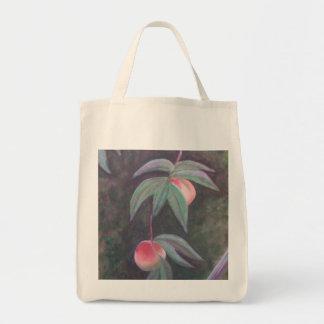 フロリダのモモの食料雑貨のトート トートバッグ