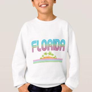 フロリダのレトロのネオンヤシの木 スウェットシャツ