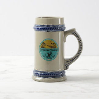 フロリダのロゴのビールステイン ビールジョッキ