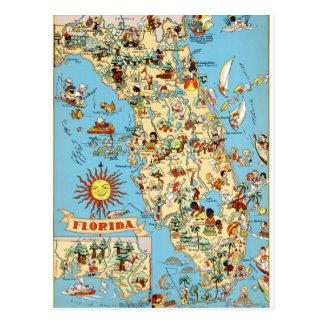 フロリダのヴィンテージのおもしろいな郵便はがき ポストカード