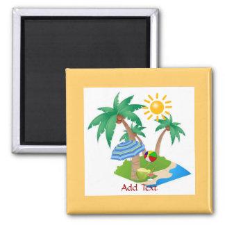 フロリダの休暇冷却装置磁石のテンプレート マグネット