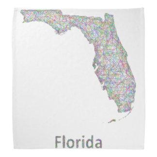 フロリダの地図 バンダナ