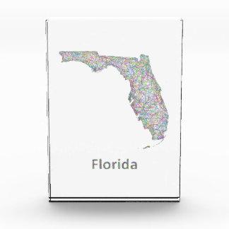 フロリダの地図 表彰盾