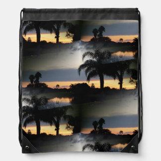 フロリダの夢みるような日没 ナップサック