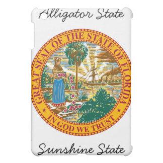 フロリダの州のシールおよびモットー iPad MINIケース