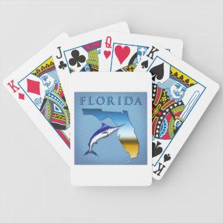 フロリダの州のデザイン バイスクルトランプ