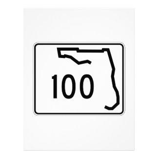 フロリダの州のルート100 レターヘッド