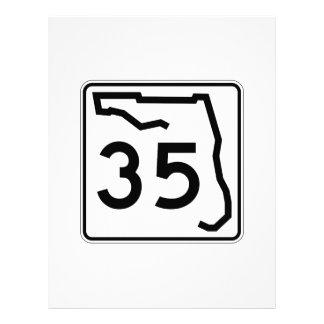 フロリダの州のルート35 レターヘッド