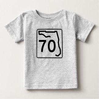 フロリダの州のルート70 ベビーTシャツ