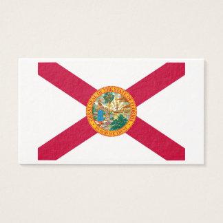 フロリダの州の旗のデザイン 名刺
