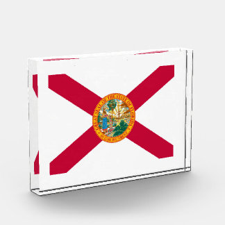 フロリダの州の旗のデザイン 表彰盾