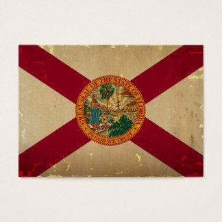 フロリダの州の旗VINTAGE.png 名刺