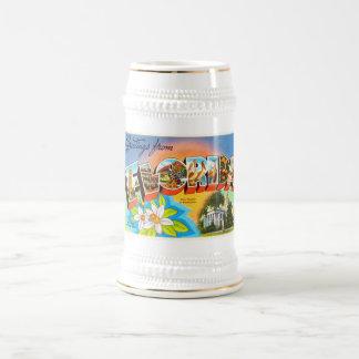 フロリダの州#1 FLの古いヴィンテージ旅行記念品 ビールジョッキ
