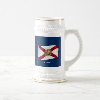 フロリダの振る旗 ビールジョッキ