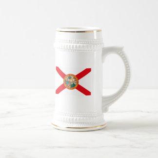 フロリダの旗のマグ ビールジョッキ
