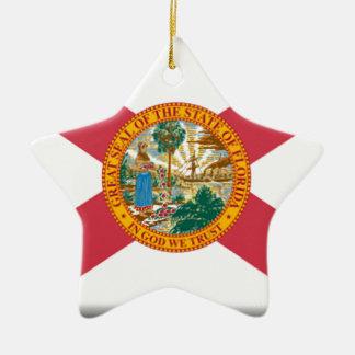 フロリダの旗 セラミックオーナメント