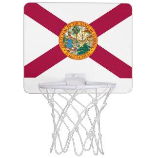 フロリダの旗 ミニバスケットボールネット