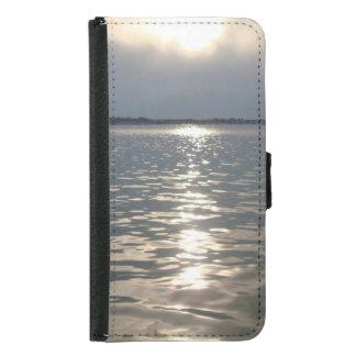 フロリダの日没のSamsungの銀河系S5のウォレットケース Galaxy S5 ウォレットケース