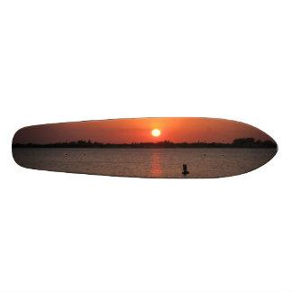 フロリダの日没 スケートボード
