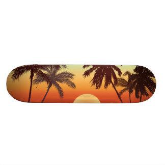 フロリダの日没 21.6CM スケートボードデッキ