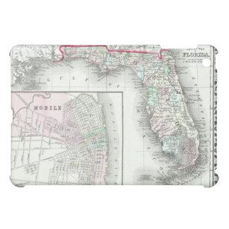 フロリダの旧式な地図及び移動式、アラバマ iPad MINI CASE