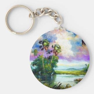 フロリダの沼沢地の風 キーホルダー