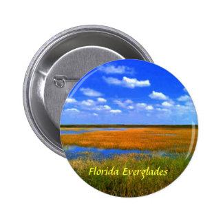 フロリダの沼沢地ボタン 5.7CM 丸型バッジ