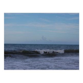 フロリダの海岸の沖のオーシャンサイド ポストカード