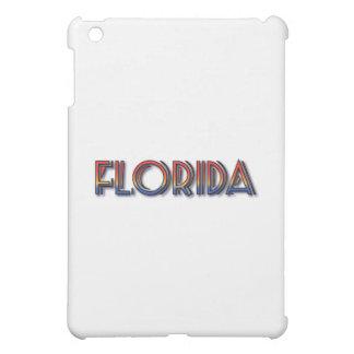 フロリダの海岸-虹の文字 iPad MINIケース